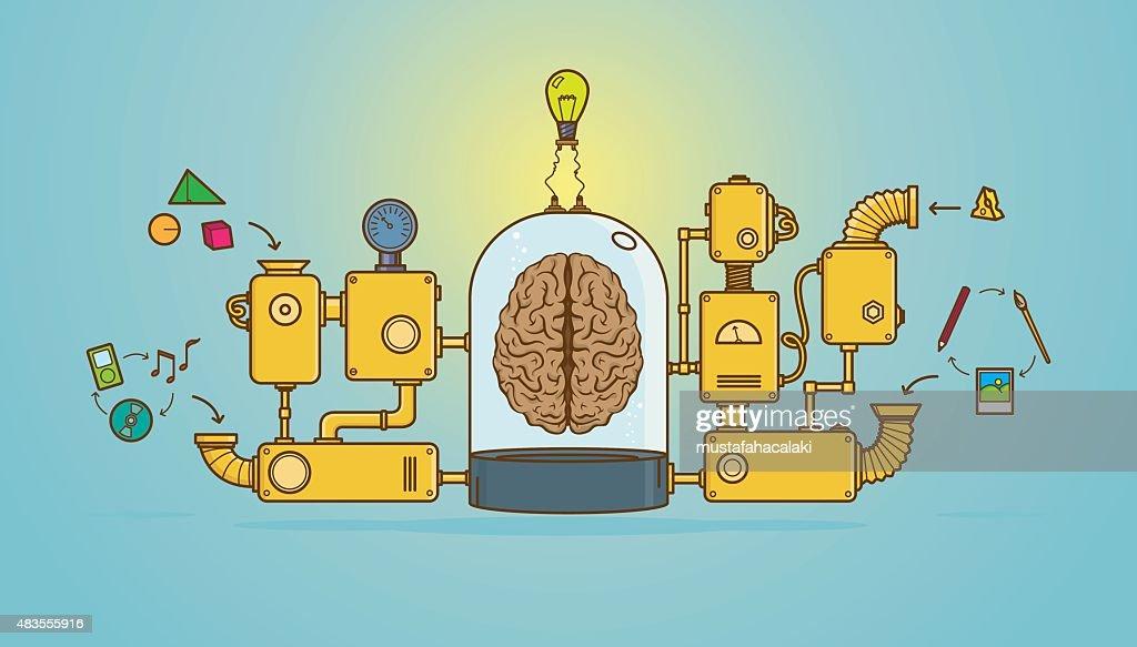 Creative machine for a bright idea
