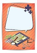 Creative medical Template Flyer Brochure Vector Paper Design Template