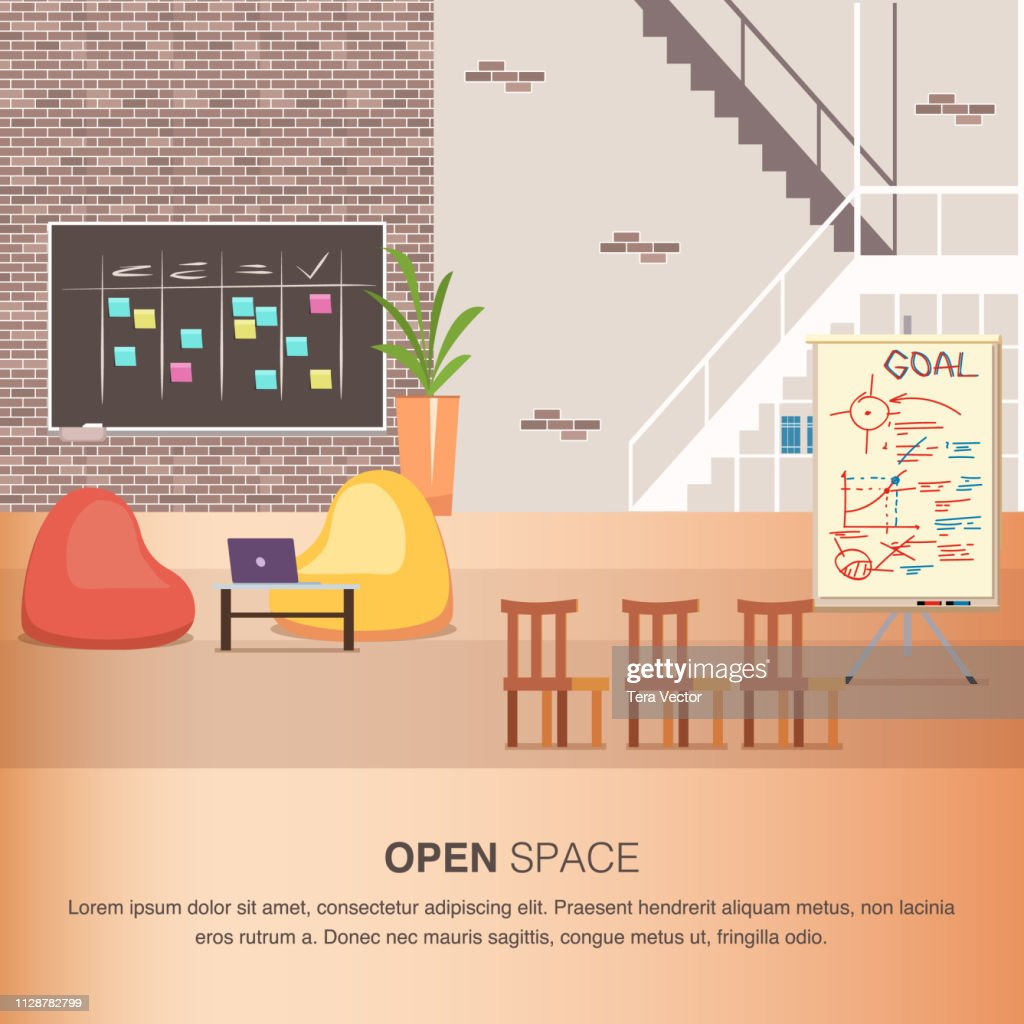 Creative Office Coworking Center Cozy Open Space