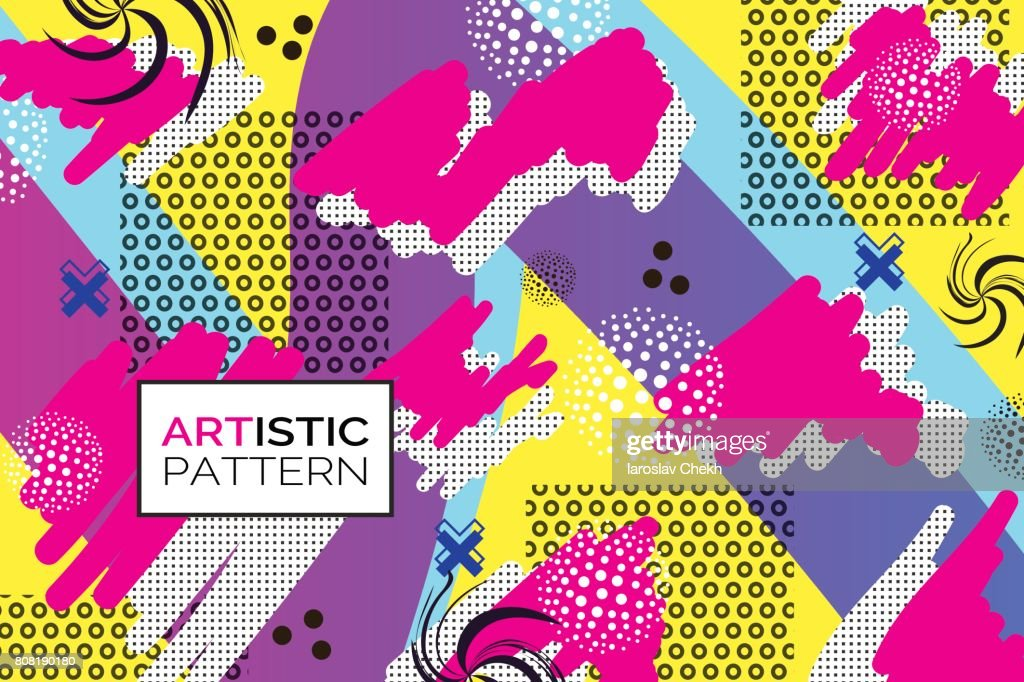 Creative pop art background