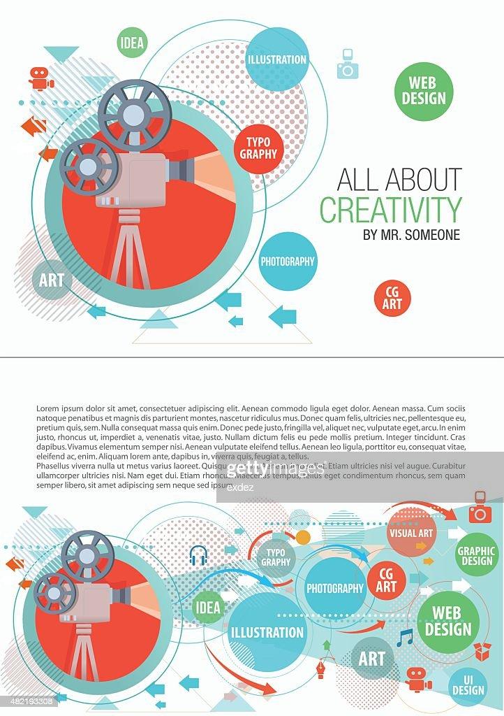 Creative print design