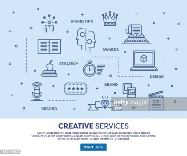creative services concept - proofreading stock illustrations, clip art, cartoons, & icons