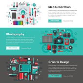 Creative Services Web Banner Set