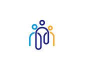 Creative Three People  icon