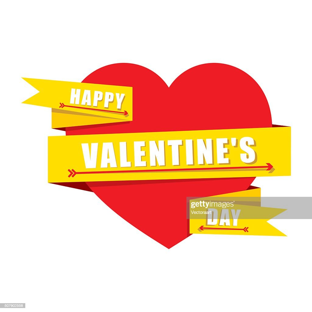 creative valentines greeting design