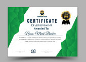Creative vector certificate template - Vector