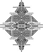 Creative Vector Tribal Print
