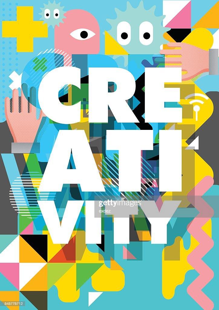 Creativity design : stock illustration