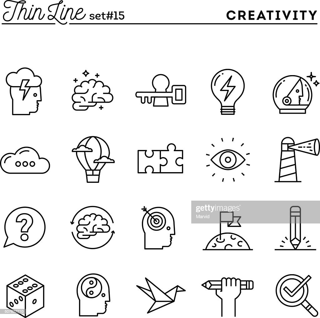 Creativity, imagination, problem solving, mind power and more, t