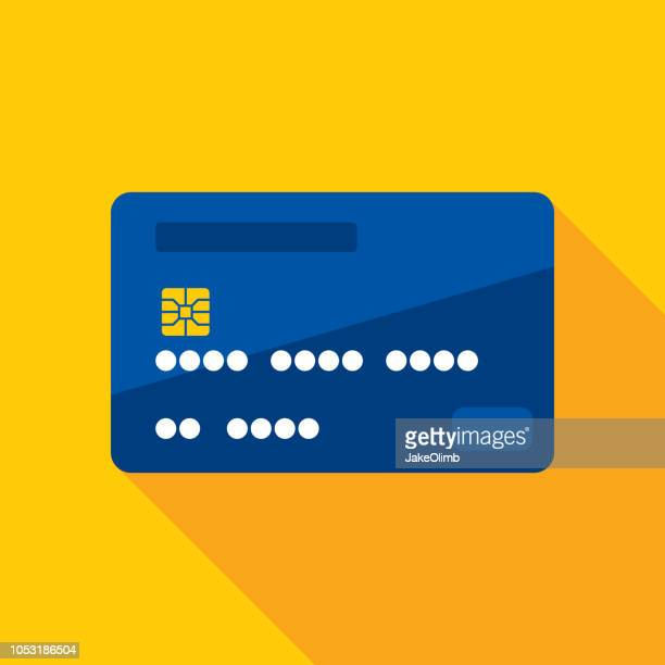 credit card icon flat - charging stock illustrations