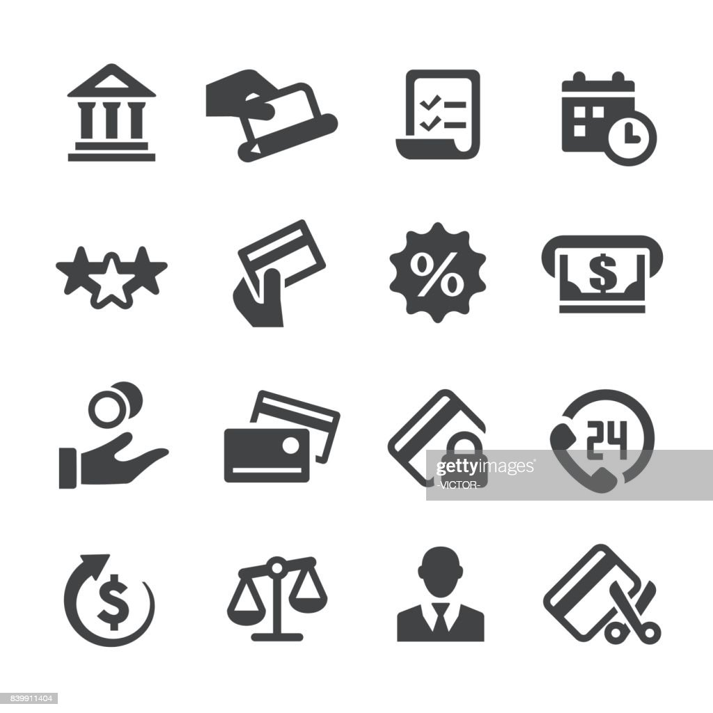 Credit Card Icons - Acme Series