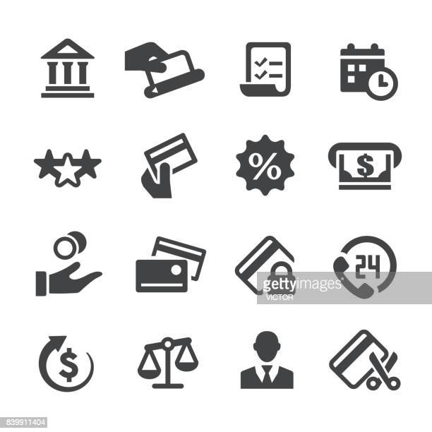 credit card icons - acme series - credit card stock illustrations