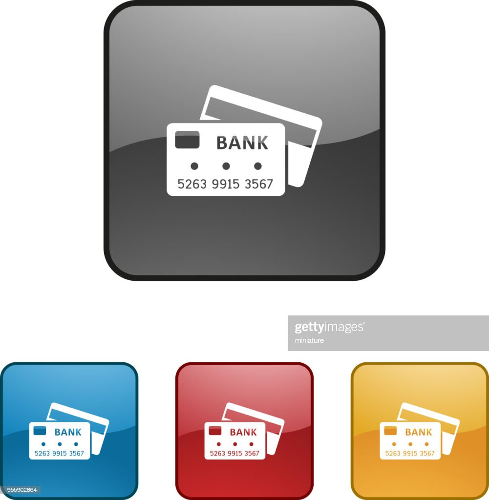 Credit Card Icons High-Res Vector Graphic - Getty Images