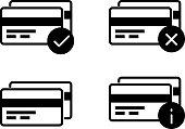 Credit Card Processing - Icon - Illustration