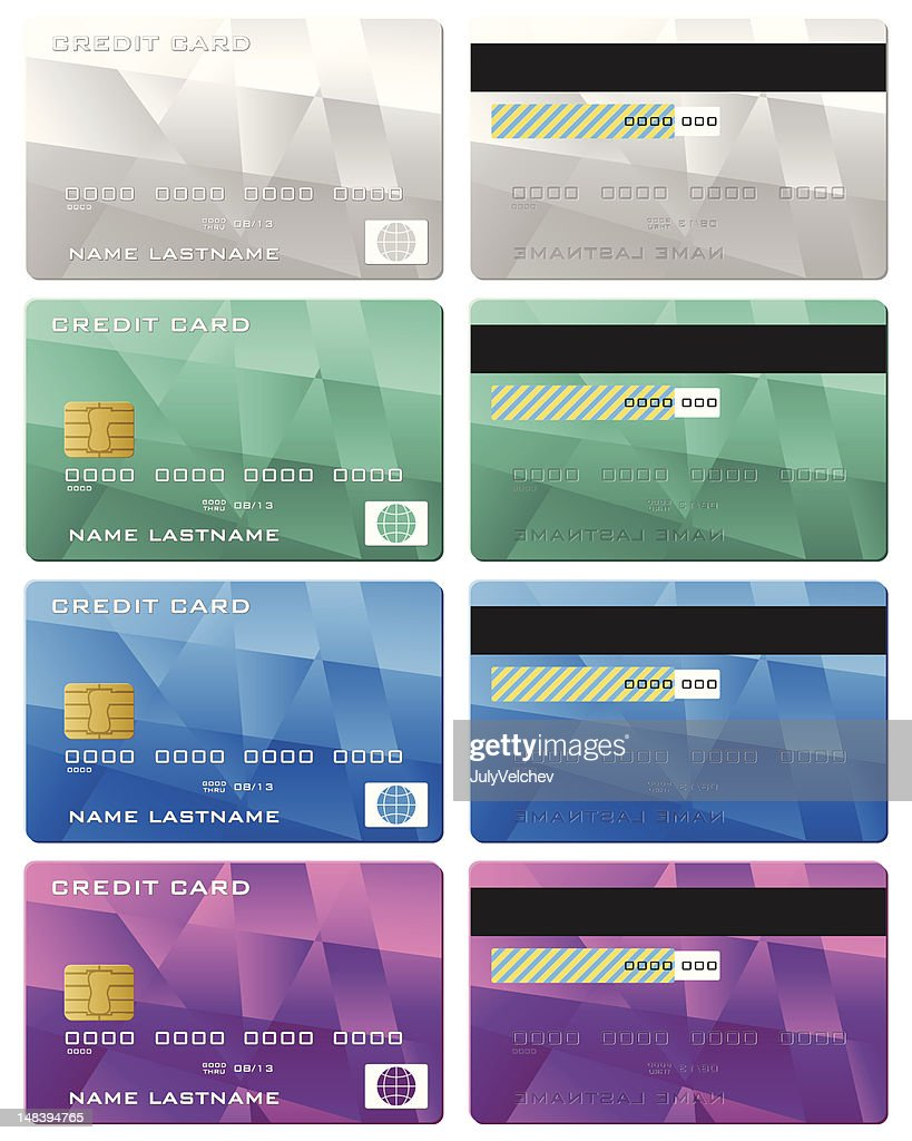 credit card set