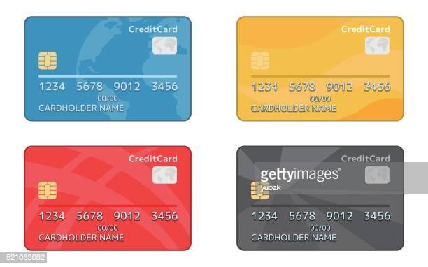 クレジットカードカード - クレジットカード点のイラスト素材/クリップアート素材/マンガ素材/アイコン素材