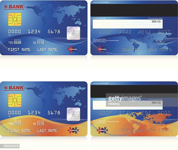 credit cards - money to burn stock illustrations, clip art, cartoons, & icons
