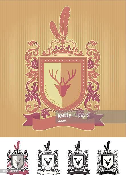 クレスト - 記念の盾点のイラスト素材/クリップアート素材/マンガ素材/アイコン素材