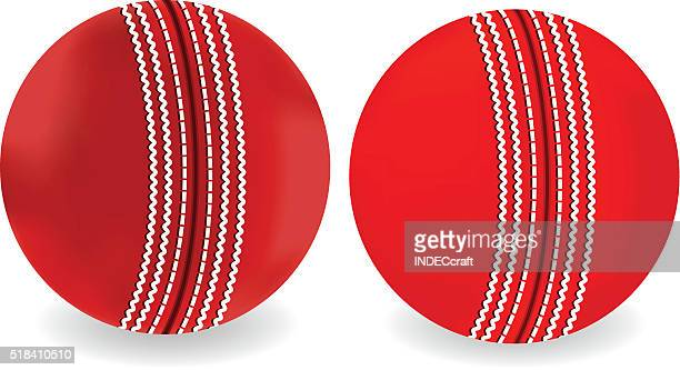 cricket ball - cricket ball stock illustrations