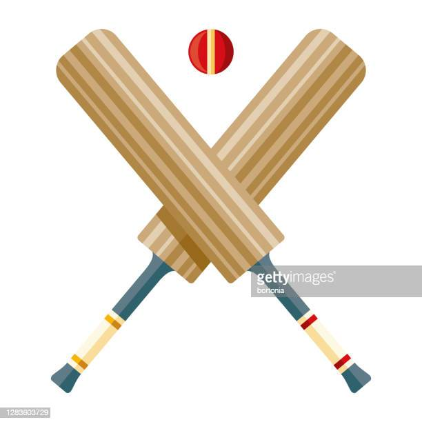 cricket icon on transparent background - cricket ball stock illustrations
