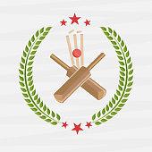 Cricket match objects.