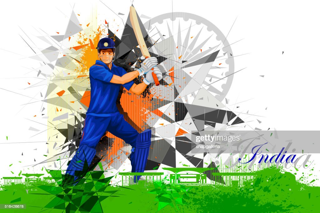 Cricket Player from India