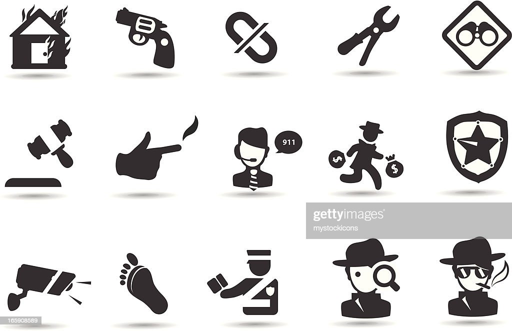 Neighborhood Crime Watch Stock Illustrations And Cartoons Getty Images