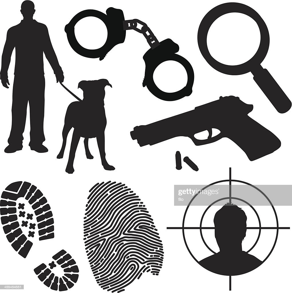 Crime and Law Enforcement Symbols