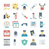 Crime and Security Vector Icons 5