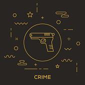 Crime Concept