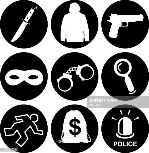 krimi-ikonen - mordopfer stock-grafiken, -clipart, -cartoons und -symbole