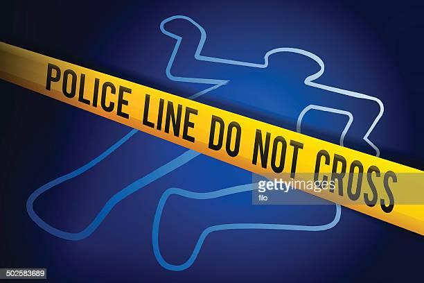 crime investigation - murder stock illustrations, clip art, cartoons, & icons