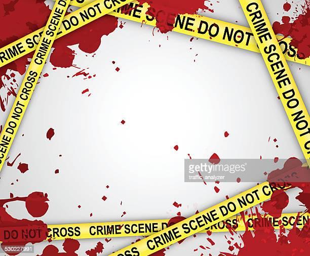 crime scene background - crime scene stock illustrations, clip art, cartoons, & icons