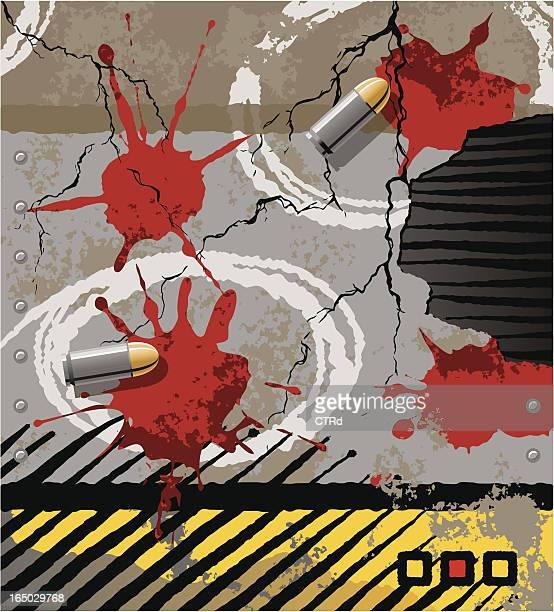 crime scene elements - crime scene stock illustrations, clip art, cartoons, & icons