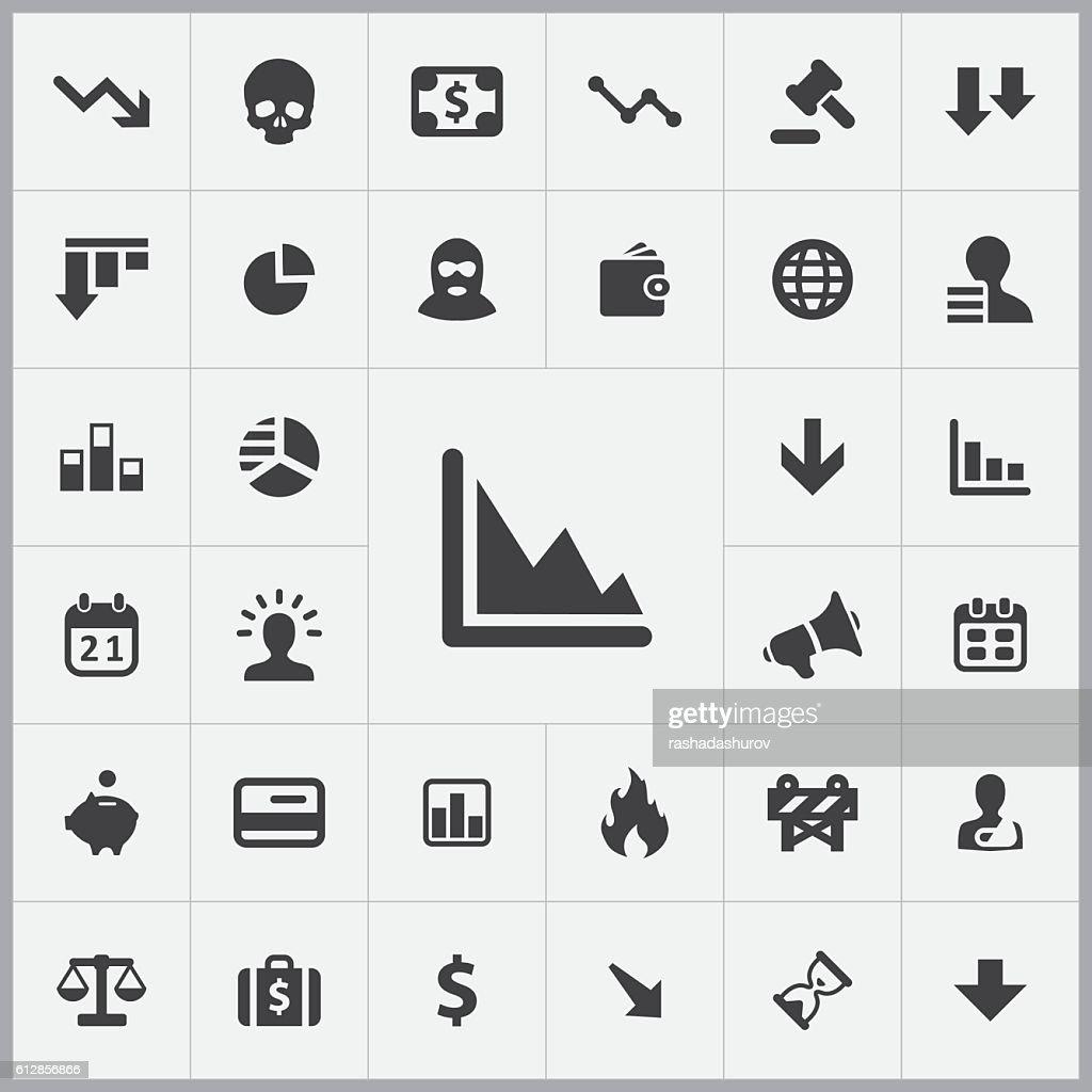crisis icons universal set