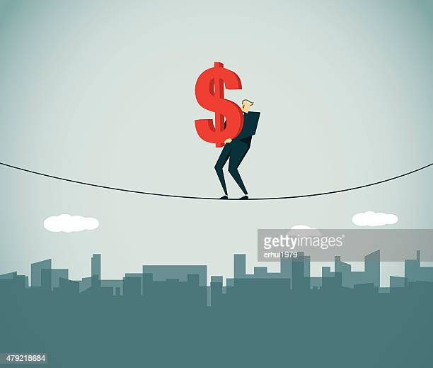 crisis - subprime loan crisis stock illustrations
