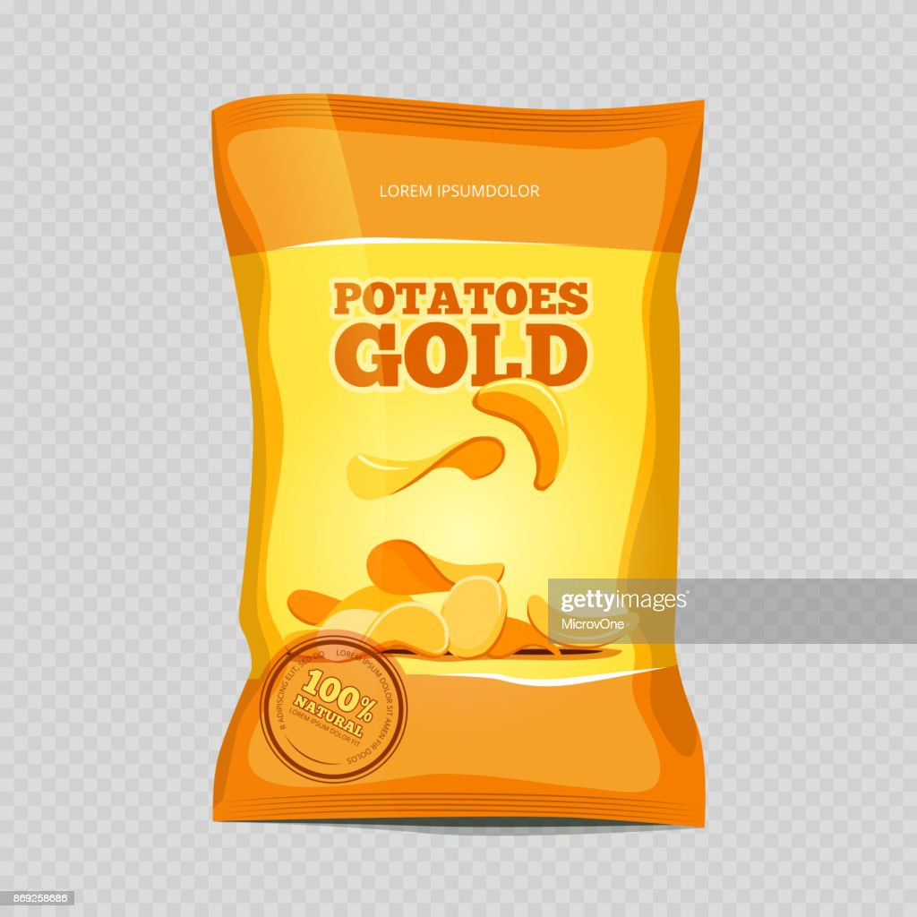 Crisp potato chips snacks