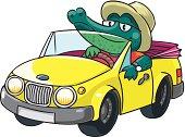Crocodile-driver