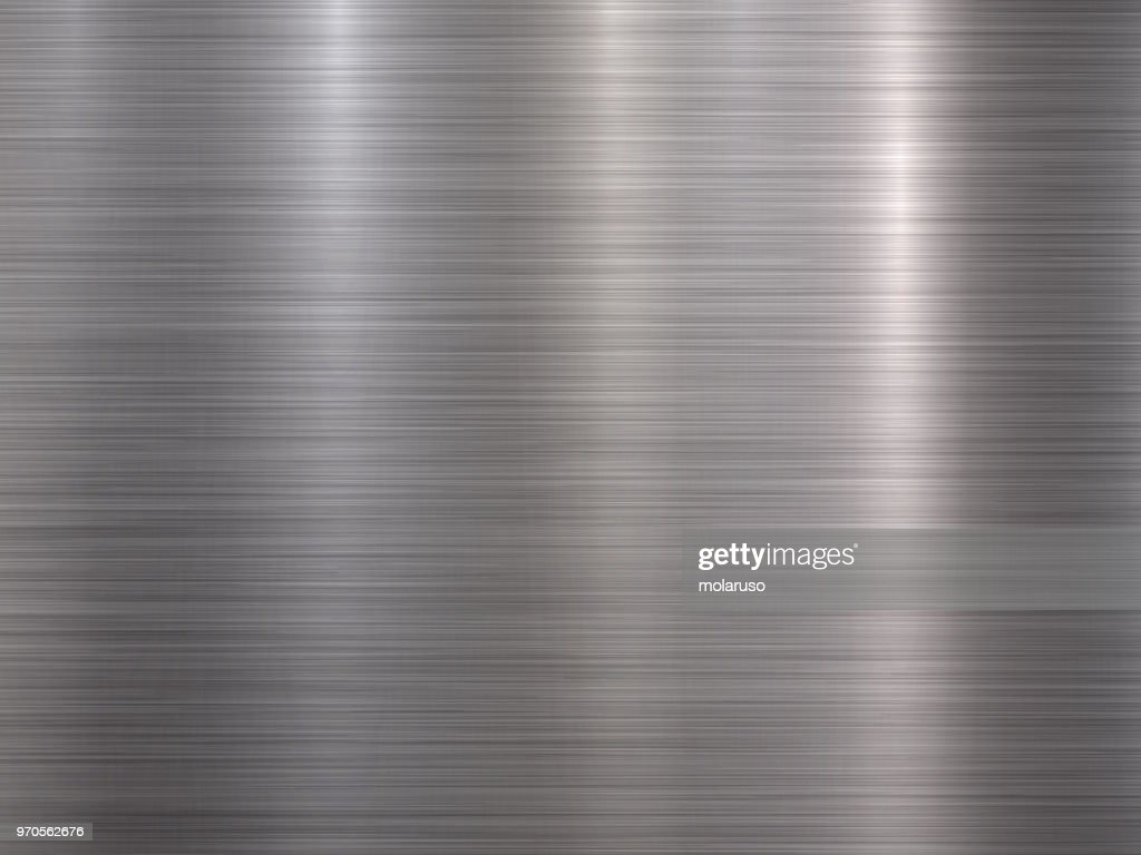 Crome Metal Textured Backgound