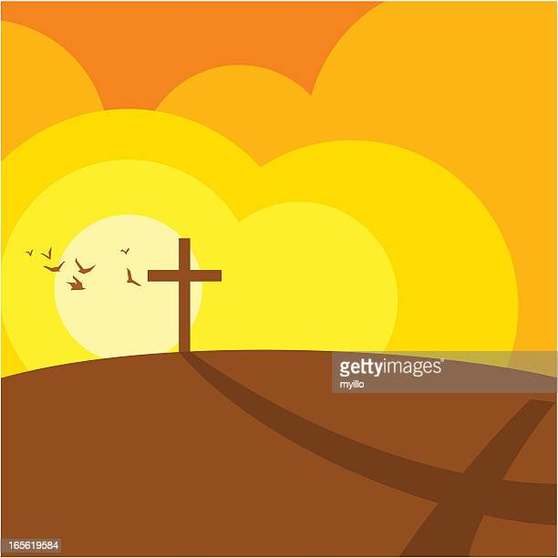 cross and religion - jesus stock illustrations, clip art, cartoons, & icons