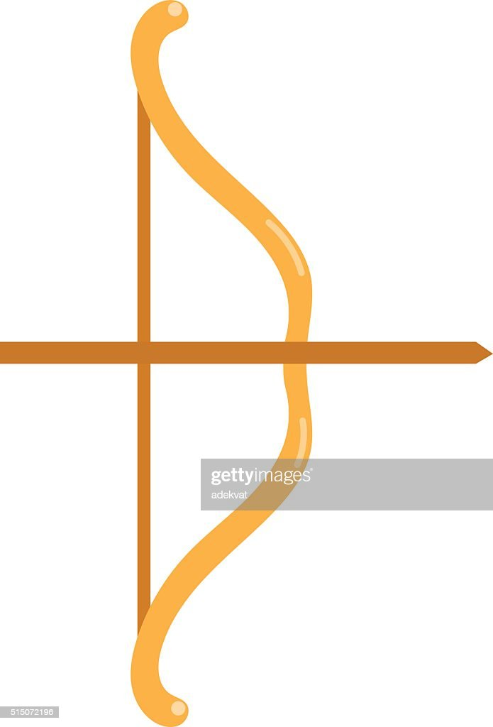 Crossbow arbalest vector illustration