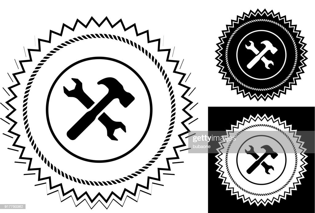 Crossed Hammer And Wrench Vector Art Getty Images