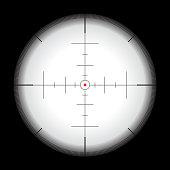 Crosshair vector illustration