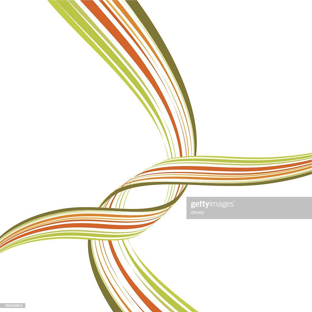 Cruce vías : Ilustración de stock