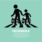 Crosswalk Graphic Sign