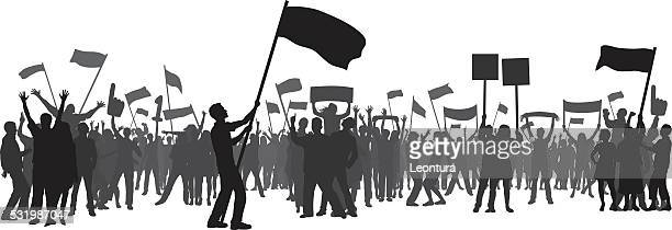 crowd (people can be moved) - fan enthusiast stock illustrations, clip art, cartoons, & icons
