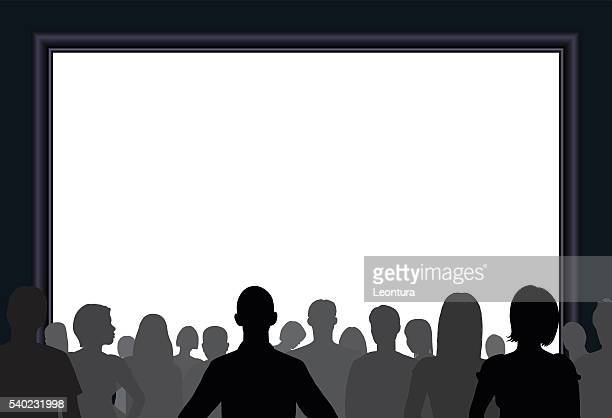 Crowd (All Complete People, a Clipping Path Hides the Legs)