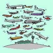 Crowded Airspace