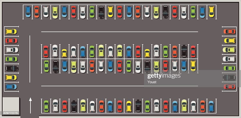 Crowded Car Parking
