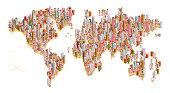 crowded world